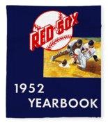 Boston Red Sox 1952 Yearbook Fleece Blanket