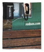 Boston Red Sox Dugout Telephone Fleece Blanket
