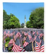 Boston Strong Fleece Blanket