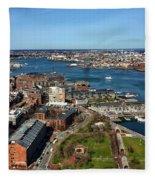 Boston's North End Fleece Blanket