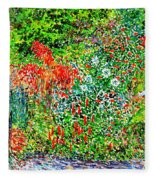 Botanical Garden Fleece Blanket
