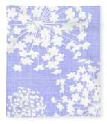 Botanicals Baby Blues Fleece Blanket