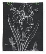 Botanique 1 Fleece Blanket