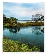 Botany Bay Marshland Fleece Blanket