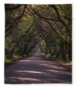 Botany Bay Road Fleece Blanket