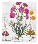 Botany: Flowers, 1613 Fleece Blanket