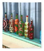 Bottled Up Fleece Blanket
