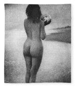Boughton: Dawn, 1909 Fleece Blanket