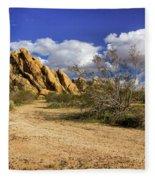 Boulders At Apple Valley Fleece Blanket