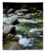 Boulders - Mossman Gorge, Far North Queensland, Australia Fleece Blanket
