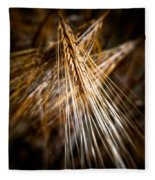 Bounty Of Barley Fleece Blanket