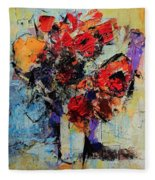 Bouquet De Couleurs Fleece Blanket