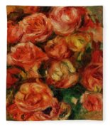 Bouquet Of Flowers 1915 Fleece Blanket