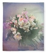 Bouquet Of Love Fleece Blanket