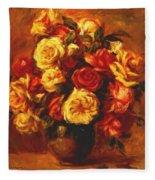 Bouquet Of Roses 1 Fleece Blanket