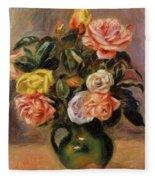 Bouquet Of Roses 2 Fleece Blanket