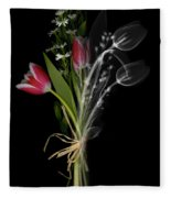 Bouquet X-ray Fleece Blanket