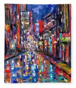 Bourbon Street Fleece Blanket