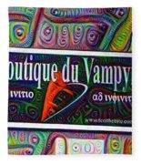 Boutique Du Vampyre -  New Orleans Fleece Blanket