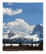 Bow Lake Vista Fleece Blanket