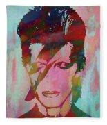 Bowie Reflection Fleece Blanket
