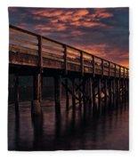 Bowman Bay Wa Fleece Blanket