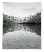 Bowman Lake - Glacier National Park 2 Fleece Blanket