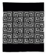 17 D Interdimensional Fleece Blanket