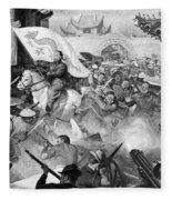 Boxer Rebellion Fleece Blanket