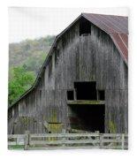 Boxley Valley Barn Fleece Blanket