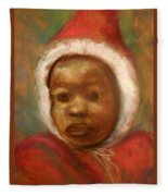 Boy In Red Fleece Blanket