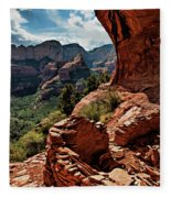 Boynton Canyon 08-160 Fleece Blanket