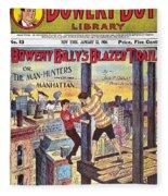 Boys Magazine, 1906 Fleece Blanket