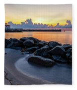 Boyton Beach Inlet Fleece Blanket