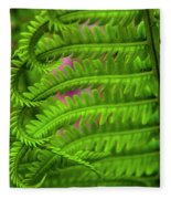 Bracken Fern Fleece Blanket