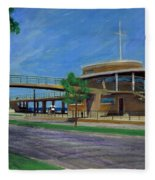 Bradford Beach House Fleece Blanket