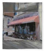 Brady Street - Peter Scortino Bakery Layered Fleece Blanket