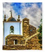 Braganca Bell Tower Fleece Blanket