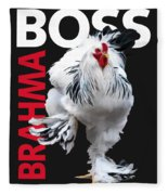 Brahma Boss II T-shirt Print Fleece Blanket