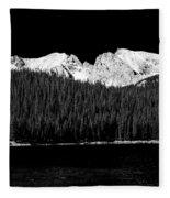 Brainard Lake - Indian Peaks Fleece Blanket