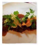 Braised Beef With Vegetables Fleece Blanket