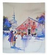 Bramhall's Corner Fleece Blanket