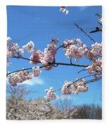 Branch Of Blossoms Fleece Blanket