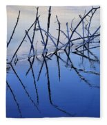 Branch Reflections 484 Fleece Blanket