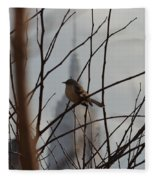Branch With A View Fleece Blanket