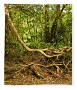 Branching Out In Costa Rica Fleece Blanket