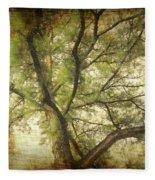 Branching Upward Fleece Blanket