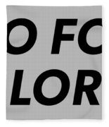 Brand T-shirt Fleece Blanket
