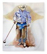 Branding Blisters Fleece Blanket