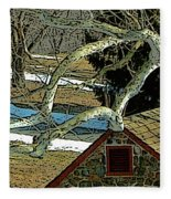 Brandywine Springhouse Fleece Blanket